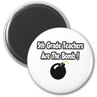 5to ¡Los profesores del grado son la bomba! Imanes Para Frigoríficos