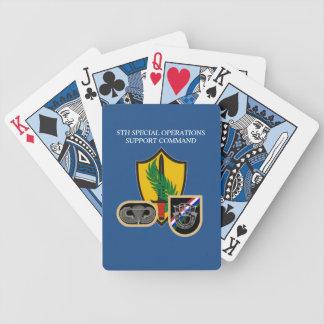 5to NAIPES de la AYUDA CMD de las OPERACIONES Baraja Cartas De Poker