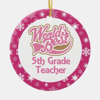 5to Ornamento del profesor del grado Ornatos