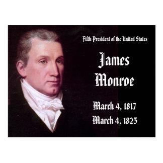5to Presidente de los Estados Unidos James Monroe Postal