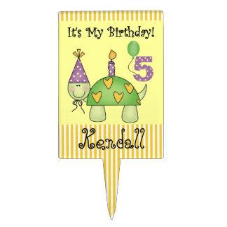 5to primero personalizado de la torta de cumpleaño decoración para tarta