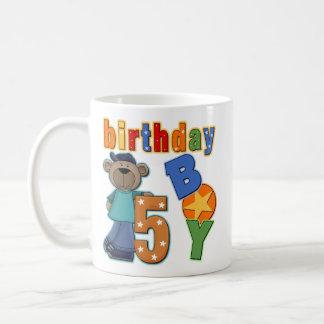 5to Regalo de cumpleaños Taza Clásica