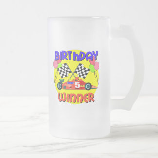 5to Regalo de cumpleaños Taza De Cristal