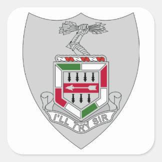 5to Regimiento de infantería - intentaré al sir Pegatina Cuadrada