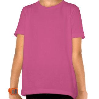 5to Unicornio del arco iris del cumpleaños - chica T-shirts