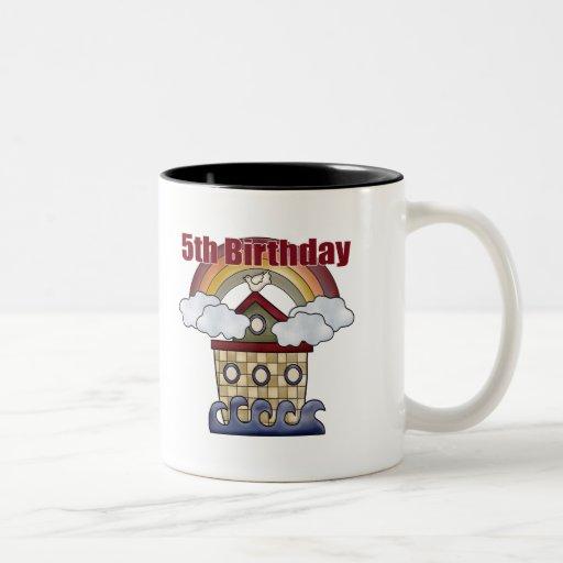 5tos regalos de cumpleaños de la arca tazas