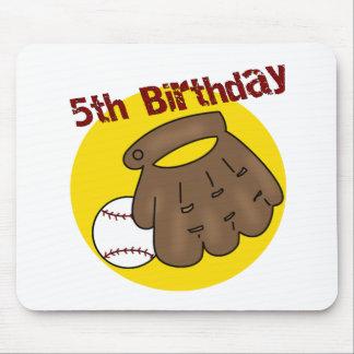 5tos regalos de cumpleaños del béisbol alfombrillas de ratones