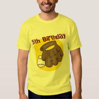 5tos regalos de cumpleaños del béisbol playeras
