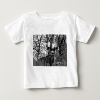 5x5 Mule Deer Baby T-Shirt