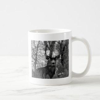 5x5 Mule Deer Coffee Mug