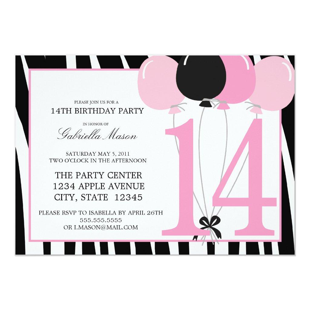 14th Girl Birthday Party Ideas