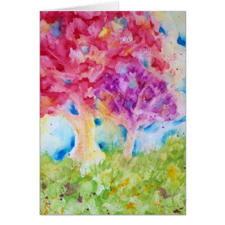 5X7 Art Card - Two - by Lucie Bergeron