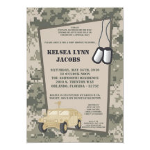 Army baby shower gifts on zazzle filmwisefo Gallery