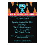 5x7 Birthday Bash Halloween Party Invitation