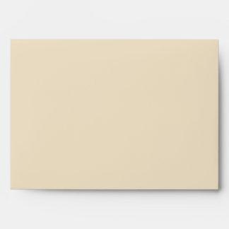 5x7 Blue & Light Brown Envelope