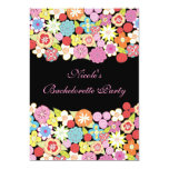 5x7 Bright Floral Bachelorette Party Invitation