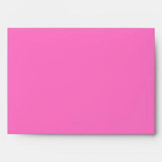 5x7 Bright Pink Envelope
