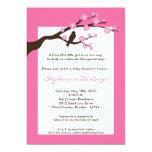 5x7 Cherry Blossom Tree Baby Shower Invitation Personalized Invitations