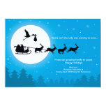 5x7 Christmas Pregnancy Announcement Cards-Coming