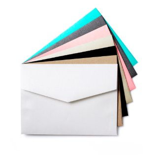 Colored Wedding Envelopes