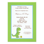 "5x7 Dinosaur Baby Shower Invitation 5"" X 7"" Invitation Card"