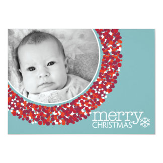 5x7 Double-sided Holiday Photo Card