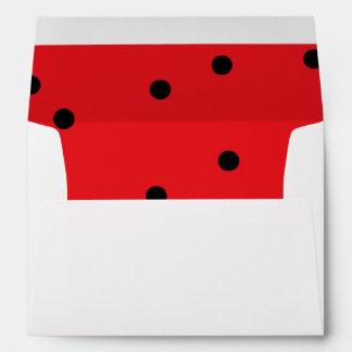 5X7 Envelope Lady Bug Love