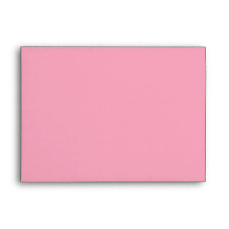 5x7 Envelope Light Pink Outside Hot Pink Inside