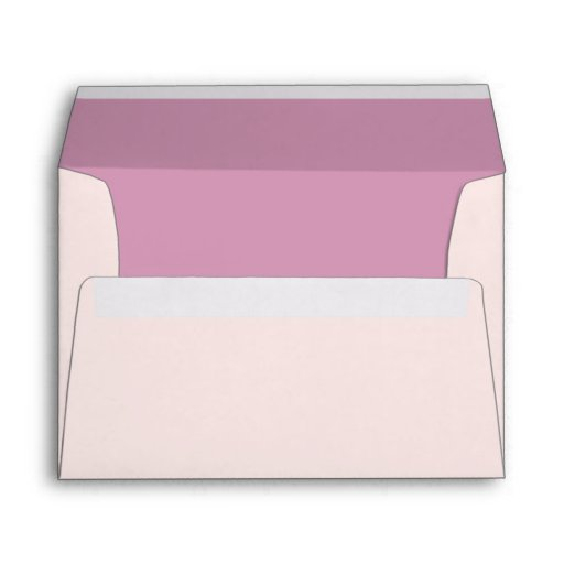 5x7  Envelope Option 1 Pink/Purple Chinese Scrolls