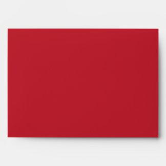 5x7  Envelope Option 3 White Dove Red Blue BG Ribb