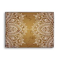 5x7  Envelope Option 4 Deep Moroccan Brown