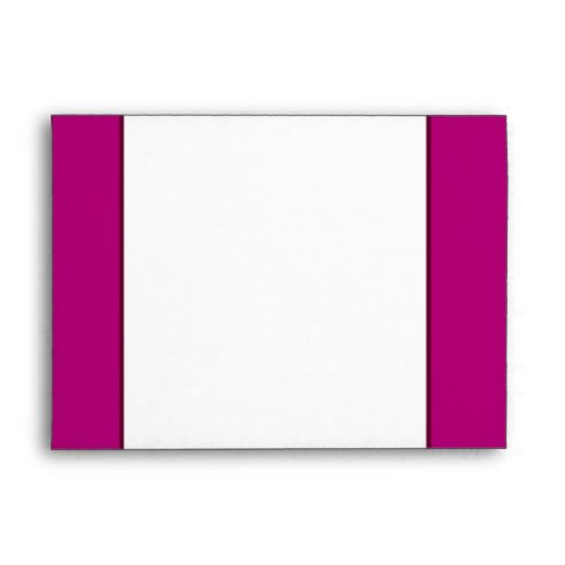 5x7  Envelope Option 4 Paper Plane Purple Loop Pur