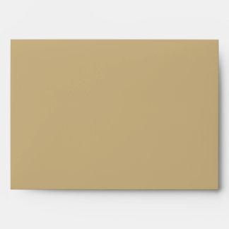 5x7 Envelope Tan Outside Hunters Camo Inside