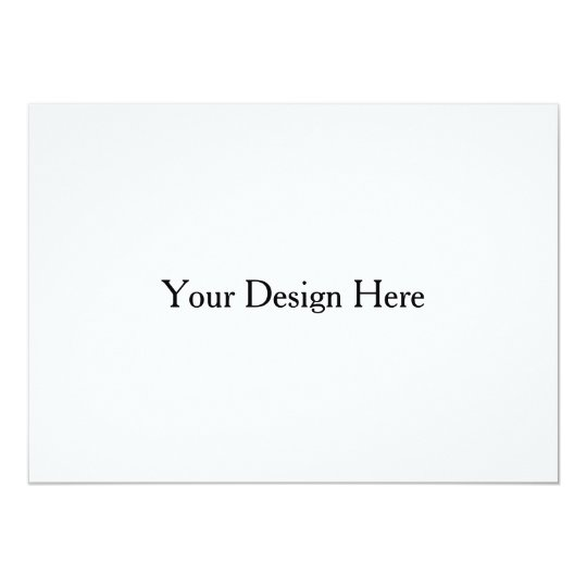 5x7 Flat Customizable Invitation Template
