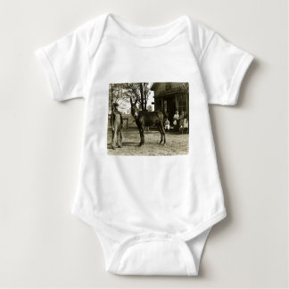 5x7 GLASS NEGATIVE  Milwaukee Mule Baby Bodysuit