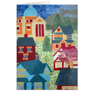 5X7 greeting card: Revelstoke by Lucie Bergeron Card