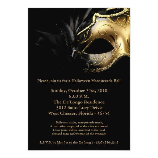Masquerade Ball Invitations as great invitations design