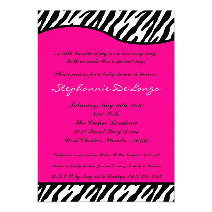 Couture Baby Shower Invitations is amazing invitations template