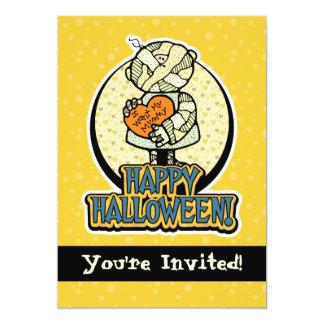 5x7 I Want My Mummy Halloween Party Invitations