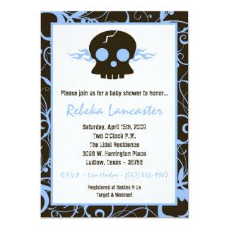 5x7 invitan - a la invitación punky de la fiesta invitación 12,7 x 17,8 cm
