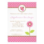 5x7 Lady Bug Spring Insect Baby Shower Invitation