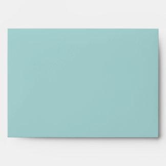 5x7 Light Blue Envelope