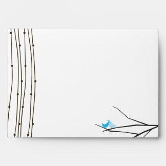 5x7 Love Birds Five Envelope