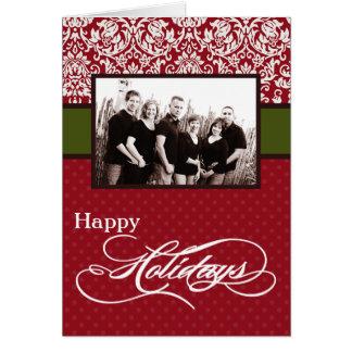 5x7 Personalized FOLDING PHOTO Greeting Card