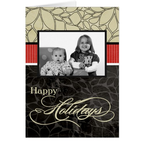 5x7 Personalized FOLDING PHOTO Greeting Card Sales 8026