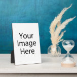 """5x7"""" Plaque Photo Panel with Easel"""