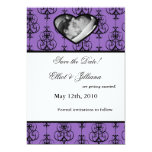 5x7 Save the Date Photo Engagement Announcement