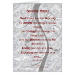 5x7 Serenity Prayer Greeting Card