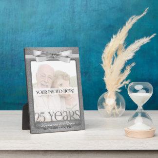 5x7 Silver 25th Wedding Anniversary Photo Frame