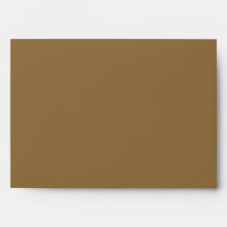 5x7 sobre Brown fuera del interior rayado